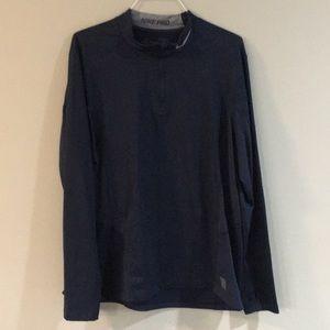 NIKE Pro 1/2 zip fitted jacket, XXL